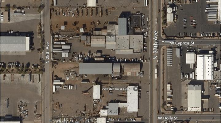 """Industrial Building in """"Warehouse District"""", Phoenix, Arizona"""