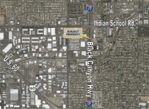 Redevelopment Parcel in Central Phoenix, Arizona