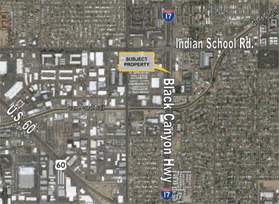 Redevelopment Parcel in Central Phoenix, Arizona