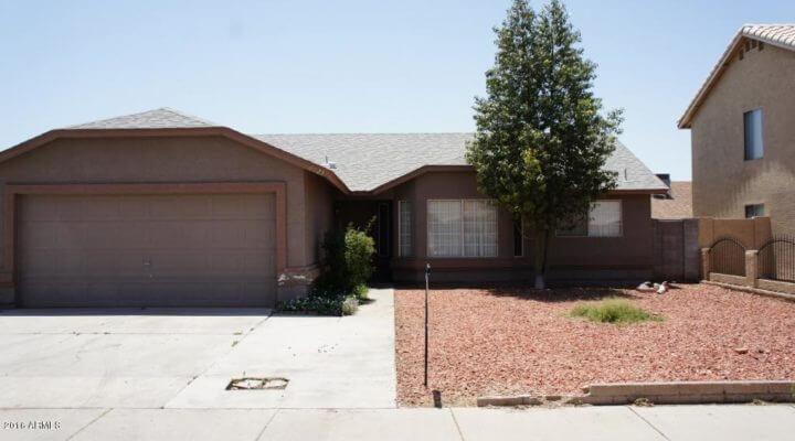 1,450 SF Home In Phoenix, Arizona