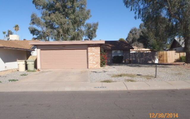 1,500 SF Home In Glendale Arizona