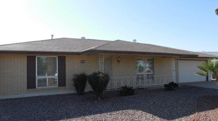 1,300 SF Home In Sun City, Arizona