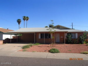 1,300 SF Home In Phoenix, Arizona