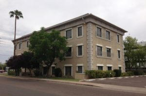 Office in Central Phoenix, Arizona