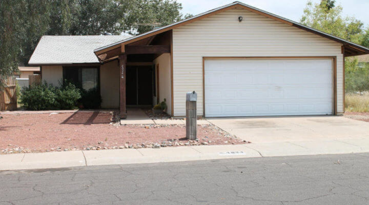 1,550 SF Home In Glendale, Arizona