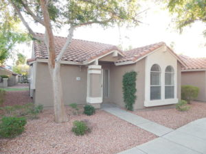 1,000 SF Townhouse In Peoria, Arizona
