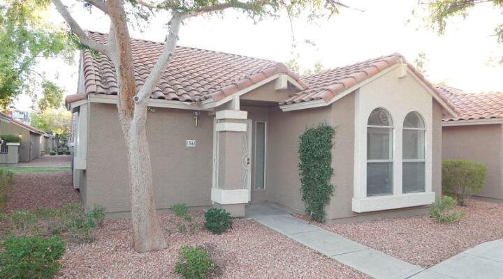 1,000 SF Townhouse In Peoria, Arizona