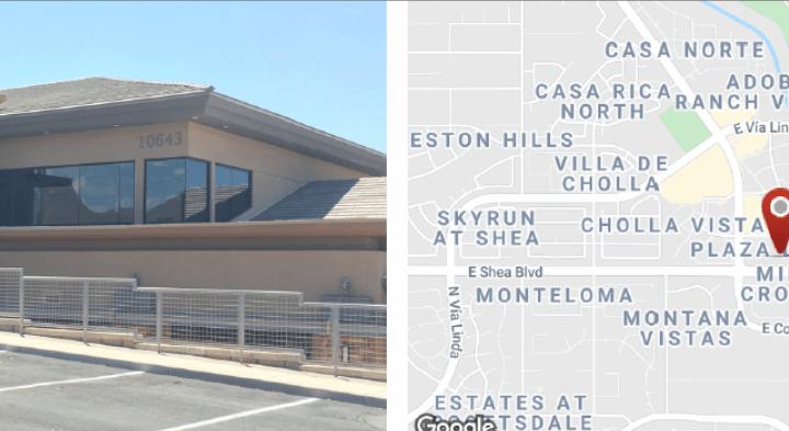 1,543 SF Office Building in Scottsdale