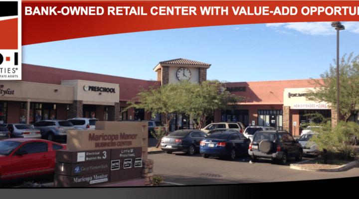 19,756 SF Retail Center, Maricopa