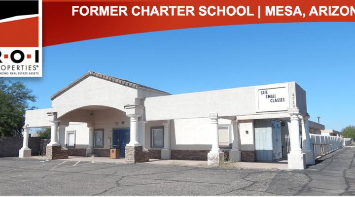 3.63 Acre Former Charter School, Mesa