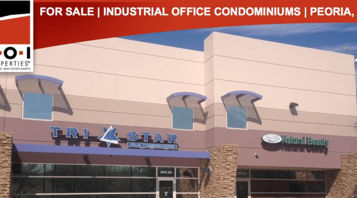 3,105 SF Industrial Office Condominiums, Peoria