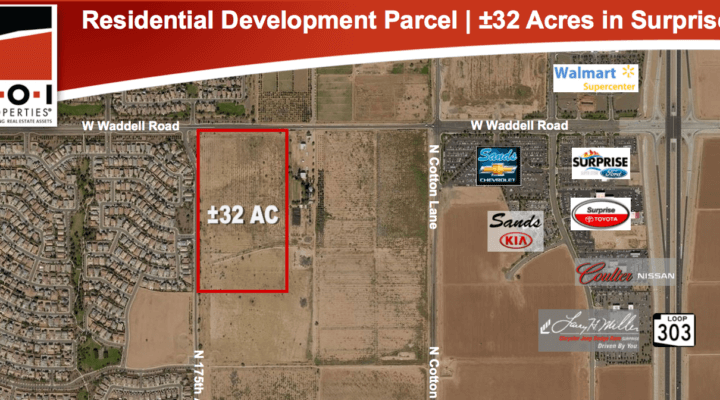 32 Acre Residential Development Parcel Surprise