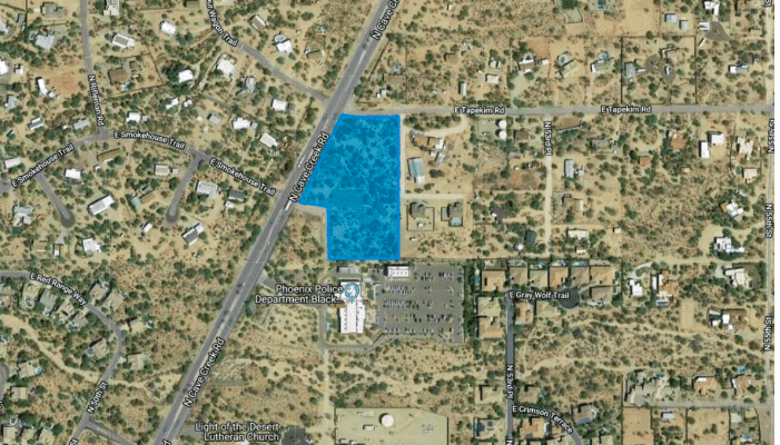 4.89 Acre Land for Redevelopment in Cave Creek