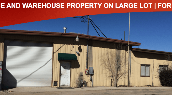 8,362 SF Office & Warehouse Property on Large Lot