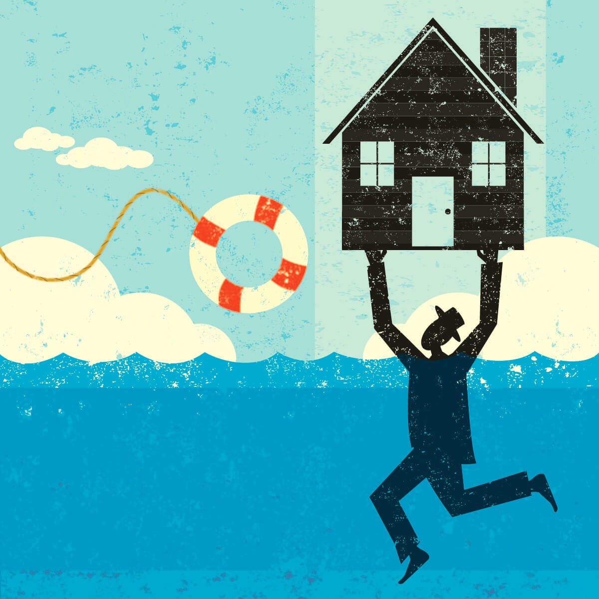 Residential Foreclosures and Forbearances