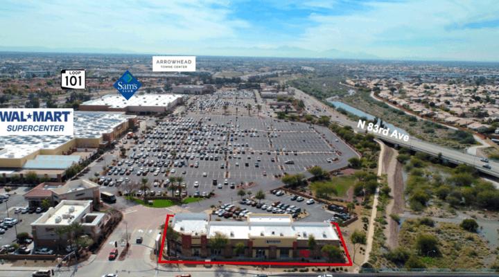 Multi-Tenant Retail Strip Center 1.29 Acres