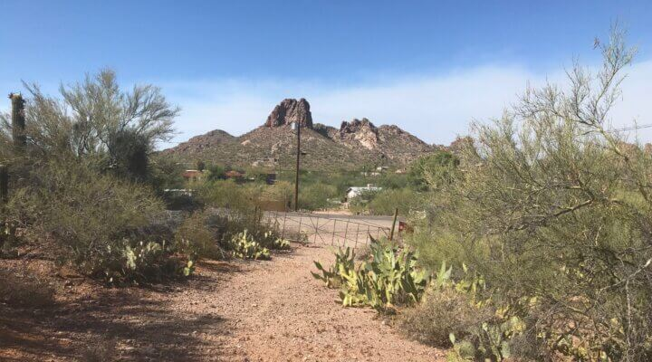 4.92 acre parcel of vacant residential land in Tucson AZ