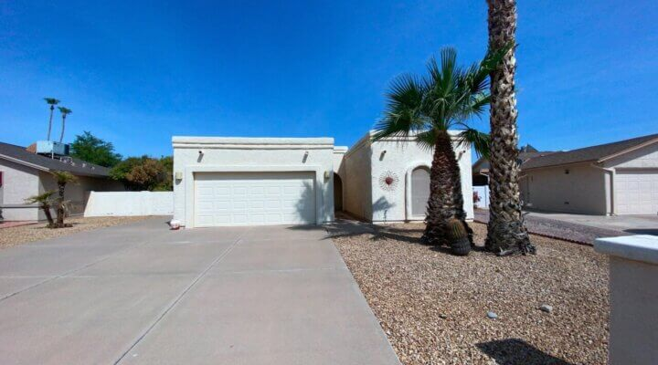 1,384 SF Home in Sun Lakes Arizona