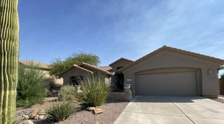 1,954 SF home in Gold Canyon Arizona