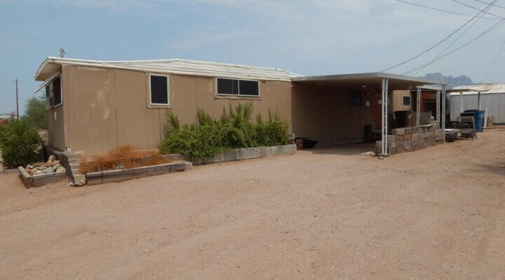 768 SF Manufacured Home in Apache Junction Arizona