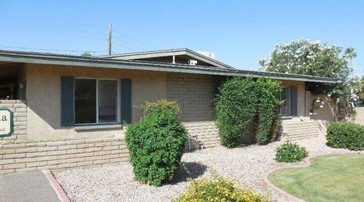 910 Sf Patio Home In Phoenix Arizona