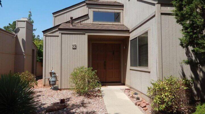 1325 SF Townhome in Sedona Arizona