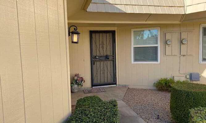 1430 SF Home in Sun City Arizona