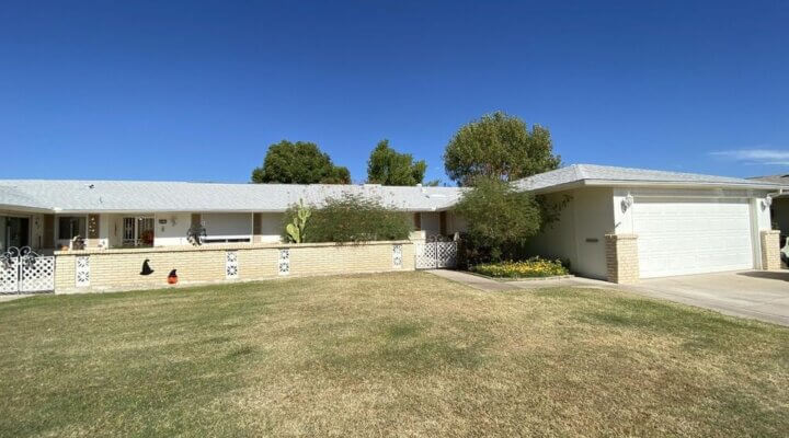 1683 SF Home in Sun City Arizona