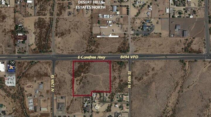 8.7 Acres of Vacant Land in North Phoenix Arizona
