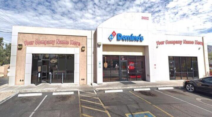 Leasing of 1184 SF Retail Space in Phoenix Arizona