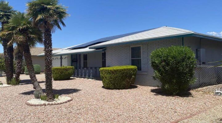 1524 SF Home in Sun City Arizona
