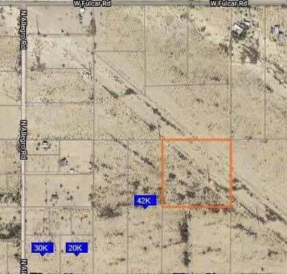 9.671 Acres in Maricopa Arizona
