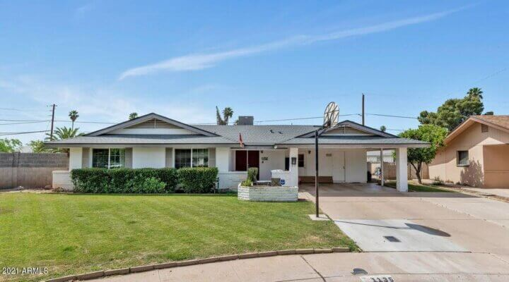 Special Real Estate Commissioner Over a 1,962 SF Home in Tempe, AZ