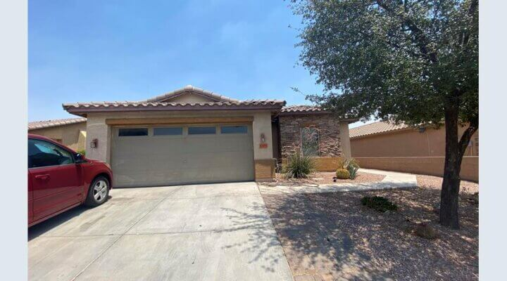 Special Real Estate Commissioner Assigment of a 1,643 SF Home in Buckeye, AZ