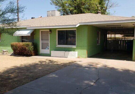 1092 SF Home in Phoenix Arizona