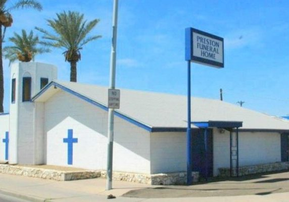 Funeral Home, in South Phoenix, Arizona