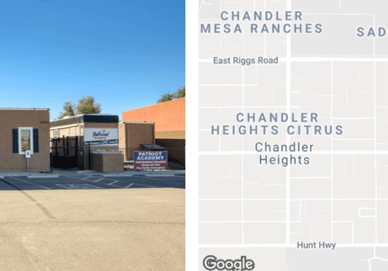 4,244 SF Former Charter School in Queen Creek
