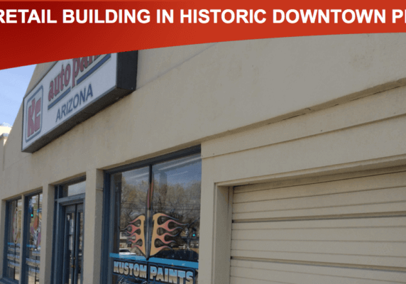 8,109 SF Retail Building in Historic Downtown Prescott