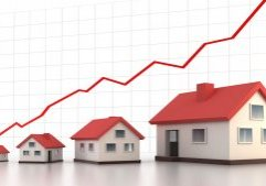 House Graph Trending Upwards