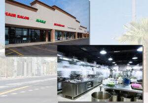 Retail and ghost kitchen