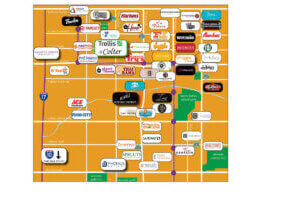 Trellis Blog Amenity Map with Logos